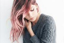 Hair / Hair inspo, colours I love and ideas.