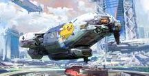 Inspiration : Spaceships and other SciFi vehicles / Geek out my friends!