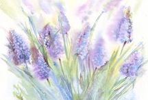 ! Inspiring Watercolor ! / Beautiful watercolor images or techniques in photography or in  oil which is reminding watercolor.   #Watercolor #Aquarel #Art #Artistic #Inspiration #Beauty