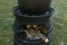 stoves, ovens and braais / Indoor and outdoor cooking