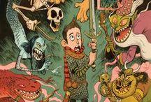 Inspiration : Cory Loftis / Cory Loftis, really great current Vis Dev artist.