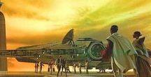 Inspiration : Ralph McQuarrie / Ralph McQaurrie : Vis Dev artist who defined the look of Star Wars