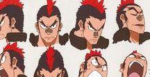 Inspiration : Anime Character Sheets