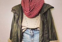 Fall and Winter / Sweaters, boots, and scarves that's what warm close are made of  / by Taylor Brook