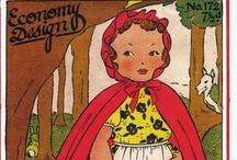Autour du Petit Chaperon Rouge / Red Riding Hood / Toute l'imagerie et les créations autour du célèbre conte du Petit Chaperon Rouge