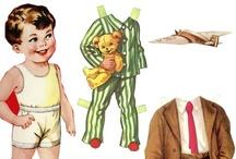 Paper Doll / Une de mes passions : les Paper Dolls années 50 +++