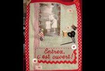 Avec mes 10 doigts... Handmade / Mes petites créations : broderie, couture, cartonnage, bidouillage... Mon anti-stress à moi