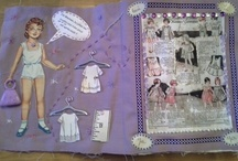 Carnet cousu / Fabric journal