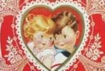 Coeurs ♡ Valentines / Les célèbres cartes à l'occasion de Valentine's day...ou pas !! J'adore +++