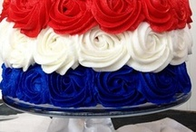 Patriotic Holidays / Memorial Day and Independence Day decor, recipes and ideas! #Fourth of July