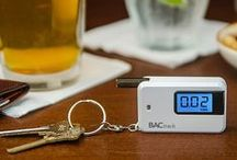 BACtrack Keychain Breathalyzers / Check out BACtrack Keychain Breathalyzers! An awesome gift for anyone who enjoys an adult beverage or two. Drink responsibly!