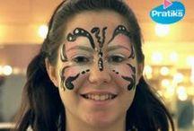 Maquillages pour Mardi Gras ! / Mardi 4 mars, c'est Mardi Gras ! Voici quelques idées de maquillages pour les petits comme pour les grands.