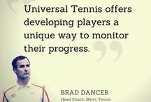 Talk about UTR / Some great people saying nice things about Universal Tennis and UTR — Universal Tennis Ratings.