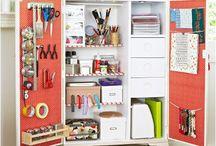 CRAFTS - supplies & storage
