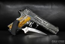Blades and Guns / Blades + Firearms = Winning
