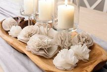 CENTRE PIECES & TABLE SETTINGS