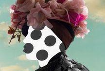 inspiration | fashionart / when the fashion meets art ♥