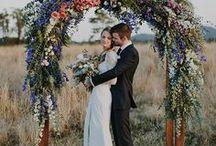 boho / rustic wedding deco