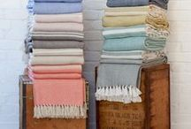 Recycled Plastic Handwoven Blankets / Beautiful, soft and eco-friendly blankets handmade from 100% recycled plastic bottles - perfect for indoor or outdoor use.