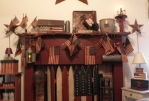 primitive and Americana / by Lisa Wiley