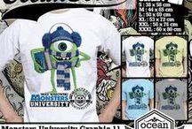 Monsters University   t-shirt