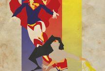DC Comics / The Bat & The Cat + DCEU!