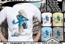 Kaos The Smurf / The Smurf T-shirt   from my kiosk online The Smurf. if you interested about my t-shirt you can contact me at  Yahoo_ID: ourkios or Blackberry Messenger : 27BD1F27