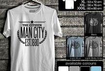 kaos Manchester City | Manchester City T-Shirt