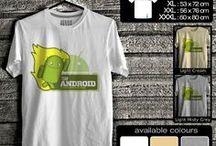 Kaos Android | Android T-shirt