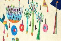 embroidery / by cómo crear historias | partes sueltas