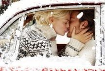 Baby, Its Cold Outside / Romance Novels that take place in a snowy winter settings, blizzards, and snowstorms and images to help you picture yourself there.