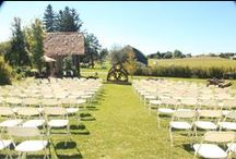 Outdoor Weddings / Planning an Outdoor Wedding?  Here are some suggestions!