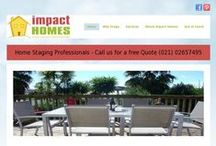 impact HOMES Website / Business website and content