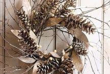 Rustic Christmas / Rustic Christmas crafting