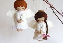 Angels are among us / Angel inspired sewing and craft