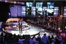Tv Studio, Stage Set Design / Tv Studio, Stage Set Design
