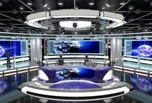 3d Virtual Stage,Tv Studio Set Design / 3d Virtual Stage,Tv Studio Set Design