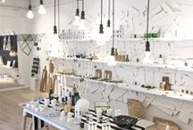 Salon Inspiration / Retail - space separator - cool ideas - design - merchandise