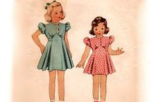 Vintage Childhood Memories / by Kindred Stitches