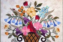 Sewing and creating with flowers / sewing and creating with flowers, applique, quilt making,hand embroidery and crochet
