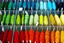 Rainbows and Rainy Days / Rainbow inspired sewing projects, quilts, crochet, felt and more.