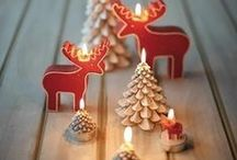Scandinavian Christmas / A Scandinavian Christmas collection to inspire your sewing and decorating