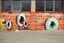 StreetArtFestival Sibiu / Scopul acestui proiect, realizat în parteneriat cu Primăria Municipiul Sibiu, este de a completa și continua tradiția orașului de centru cultural, de promotor al artelor, de oraș vizionar. Prin realizarea acestor lucrări permanente, organizatorii festivalului își propun atragerea interesului publicului larg pentru artă, pentru promovarea orașului Sibiu ca un oraș cosmopolit, cu viziune, deschis culturii. - by Lucian Muntean (http://www.modernism.ro )