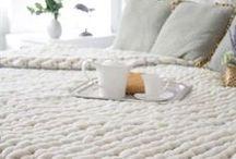 Tricot / Couvertures plaids patchworks