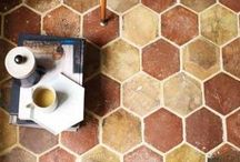 Terracotta / Fabulous traditional terracotta floor tiles, in contemporary styles