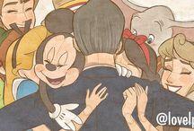 Disney - Art / Also Disney inspired DeviantArt.