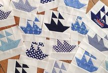 All things nautical in fabric and thread / Nautical and all things fun in the sun, a collection of quilts, embroidery, craft and home decor
