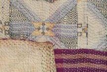 Thrifty Living with Fabric Thread Yarn / Thrifty living and decorating with fabric, threads and yarn