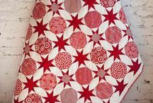 Red and White / red and white sewing, hand embroidery, fabrics, threads, quilts
