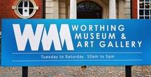 Worthing Museum & Art Gallery / Worthing Museum & Art Gallery is the largest museum in West Sussex. Located in the centre of Worthing, the building celebrated its centenary in 2008. It was originally designed to house the town's library as well as the museum.